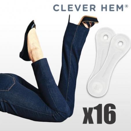 Banda adeziva pentru pantaloni (16 bucati)