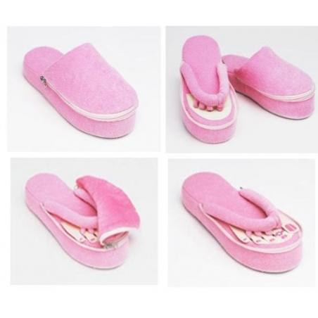 Papuci pentru pedichiura cu spuma de memorie