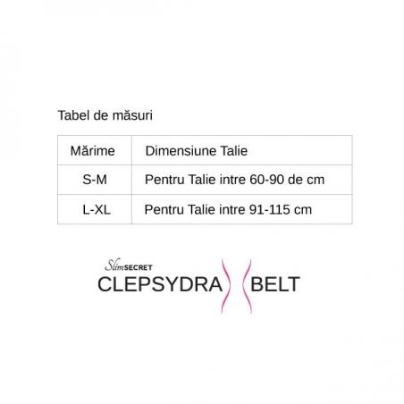Centura de Modelare Clepsydra Belt – SlimSecret