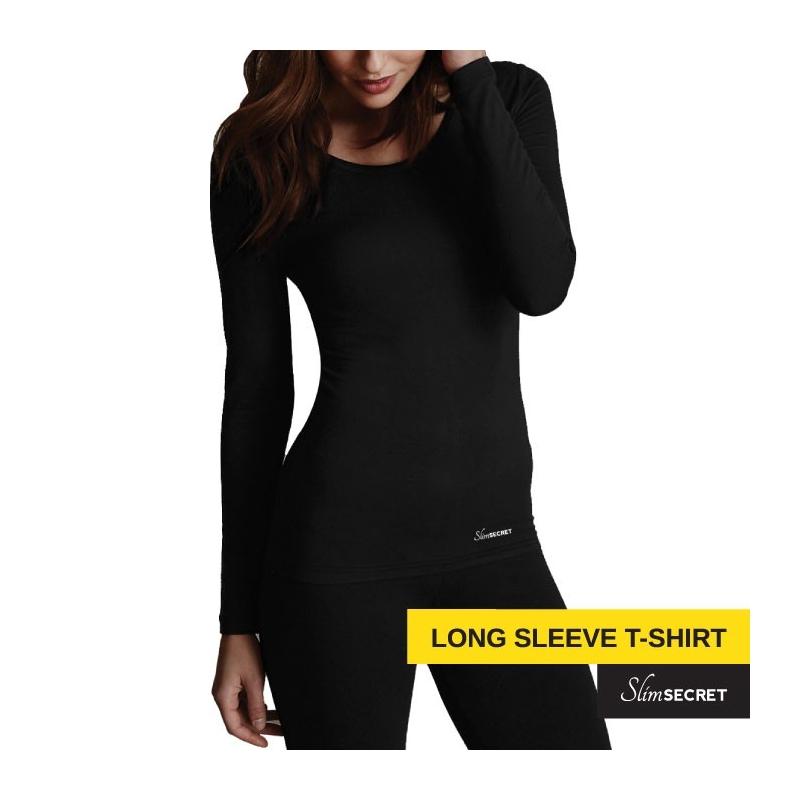 Bluza pentru Slabit cu maneci Lungi Slimsecret